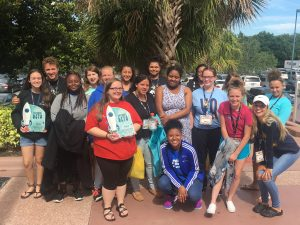 CHS Sr Betas at the National Sr Beta Convention in Orlando, Florida